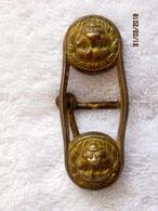 Ethiopia: Boucle De Ceinturon Tête De Lion -  Garde Impériale / Kebour Zabania - Uniforms