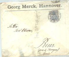 LETTER 1906  HANNOVER A REUS ESPAÑA - Cartas