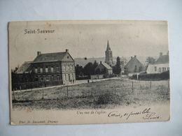 Saint Sauveur - Une Vue De L'église - Frasnes-lez-Anvaing