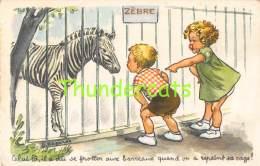 CPA ILLUSTRATEUR LAGARDE ENFANTS  ZEBRE - Bouret, Germaine