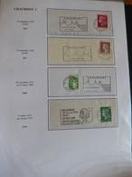 100 Flammes Illustrées De Haute Marne (1950-2006) - Marcophilie (Lettres)