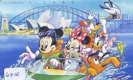 Télécarte Japon DISNEY / 110-169804 - Série Voyage 11/16 - AUSTRALIA KOALA SYDNEY OPERA (6330) Japan Phonecard - Disney