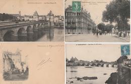 18 / 4  / 14  -   LOT  DE  11  CPA  & 1  CPSM  DE  CHÂTEAUROUX  (   36 )  Toutes Scanées - Cartes Postales
