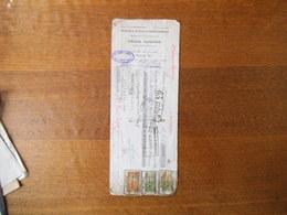 PARIS FELIX AUDOIN TRAVAUX PUBLICS & INDUSTRIELS MATERIAUX DE CONSTRUCTION 123 RUE DE GRENELLE TRAITE DU 13 AOUT 1925 TI - Invoices & Commercial Documents
