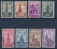 BELGIE - OBP Nr 519/526 - Gest./obl. - Cote 25,00 € - Belgique