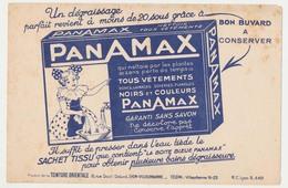 Buvard 20.5 X 13.4 PANAMAX Nettoie Les Vêtements Par Les Plantes De La Teinturerie Orientale à Lyon-Villeurbanne - Textile & Clothing