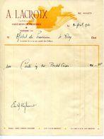 13.SAINT REMY DE PROVENCE.A.LACROIX IMPRIMEUR. - Imprimerie & Papeterie