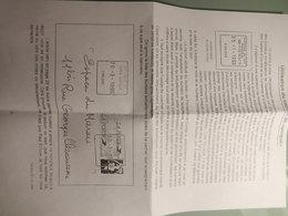 """Lot D'enveloppes Avec Oblitération """"cachet Unique"""" - Marcophilie (Lettres)"""