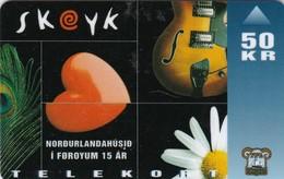 Faroe Islands, OD-017,  50 Kr , Skeyk - Musical, 2 Scans. - Faroe Islands