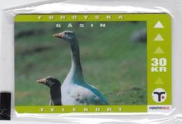 Faroe Islands, OD-023,  30 Kr , Faroese Animals, Goose, Mint In Blister, 2 Scans. - Faroe Islands