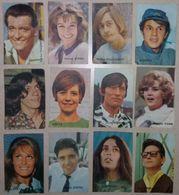 Chromo - Victoria Célébrités, Acteurs Et Chanteurs (Michel Polnareff, Antoine, Adamo, Sacha Distel, Dalida) - Victoria