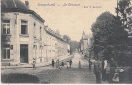 Drogenbos - Droogenbosch - La Chaussée - Geanimeerd - Café Du Grand Air - Uitg. F. De Clerk - Drogenbos