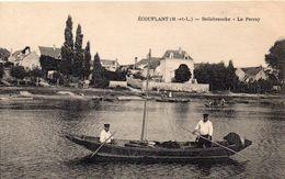 Ecouflant Animée Bellebranche Le Perray Barque Batellerie - Other Municipalities