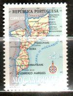 MOZANBIQUE  Carte 1954 N° 343 - Mozambique