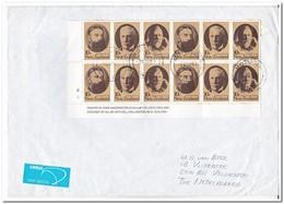 Nieuw Zeeland, Airmail To Veldhoven, Netherlands - Posta Aerea