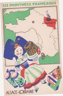 CPA - LES PROVINCES FRANCAISES - ALSACE-LORRAINE - France