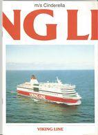 VIKING LINE - CRUISE SHIP M/s CINDARELLA - Bateaux