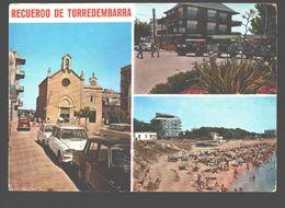 Torredembarra - Varias Vistas De La Villa - Classic Cars - Tarragona