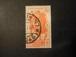 1934 - MEDAGLIE AL VALORE, Sass N. 374 , L. 1,75 + 1, Usato TTB,  OCCASIONE - 1900-44 Vittorio Emanuele III