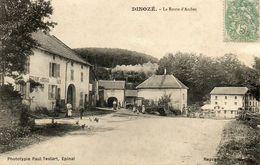 CPA - DINOZE (88) - Aspect De La Route D'Arches Et Du Restaurant De Bordeaux En 1903 - Autres Communes
