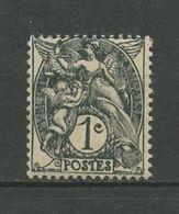 FRANCE 1900  N° 107 * Neuf MH Trace De Charnière TTB  Cote  1,25 € Type Blanc - France