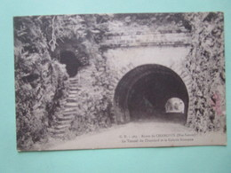 Route De Chamonix. Le Tunnel Du Chatelard Et La Galerie Romaine. GR 563 Fauraz - France
