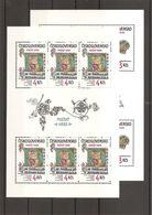 Tchécoslovaquie   (  2591/2592 En Feuilles XXX -MNH) - Tchécoslovaquie