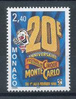 Monaco N°2026** Festival Du Cirque - Neufs