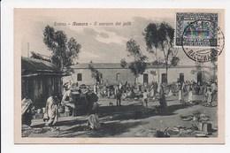CPA ERYTHREE ASMARA Il Mercato Dei Polli - Erythrée