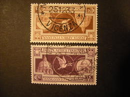 1933 - ANNO SANTO, Posta AEREA , 2 Val. TTB,  OCCASIONE - 1900-44 Vittorio Emanuele III