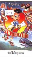 Télécarte * THE DISNEY STORE * Japon (110-165376) PINOCCHIO  (6317) * JAPAN PHONECARD *  CINEMA FILM MOVIE KINO - Disney