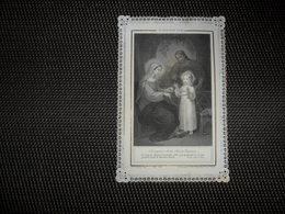 Devotieprentje ( C 210 )  Image à Dentelles  Met Kant - Imágenes Religiosas