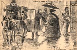 Affaire Therese Humbert, Politische Satire, Um 1900/10 - Satirische