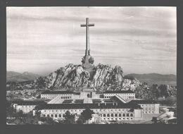 Santa Cruz Del Valle De Los Caidos - La Cruz Con El Convento Seminario - 1963 - Madrid