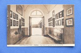 Cartolina Napoli - Collegio Militare - Corridoio D'ingresso Al Cortile Grande - Napoli