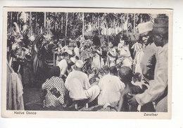 Ps- TANZANIE - ZANZIBAR - Native Dance - Ruanda-Urundi