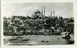 TURKYE  TURKIYE  TURCHIA  ISTANBUL  Suleymaniye Gorunusu  Mosque - Turchia