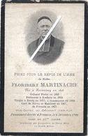 Image Mortuaire - Hornaing - Fressain - Abbé MARTINACHE Floribert - Décès