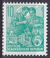 Deutschland Germany DDR 1959 Wirtschaft Economy Fünfjahresplan, Mi. 704 ** - [6] República Democrática