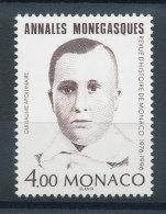 Monaco N°2043** Annales Monégasque - Guillaume Apollinaire - Neufs
