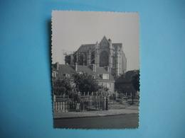 PHOTOGRAPHIE  BEAUVAIS  -  60  -  La Cathédrale  -   8,7 X 12  Cms -  1960 - Oise - Beauvais