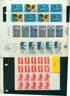 FRANCE PETIT LOT DE 15 CARNET NEUFS A PARTIR DE 7.50 EUROS - Carnets