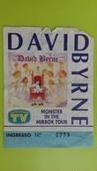 Biglietto Concerto DAVID BYRNE - Monster In The Mirror Tour - Tickets De Concerts
