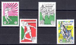 1968; Jeux Olympiques à Mexico, Michel-No. 1065 - 1068, Neuf **, Lot 49699 - Ete 1968: Mexico