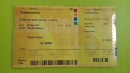 Biglietto Concerto TUXEDOMOON - Anfiteatro Delle Cascine Firenze - 5 Luglio 2011 - Concerttickets
