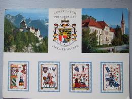 LIECHTENSTEIN / VADUZ / LOT DE 3 CARTES / TOUTES LES PHOTOS  ET DESCRIPTIFS - Liechtenstein