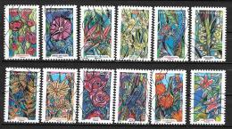 2016 - 106 -   Oblitéré  - Fleurs à Foison - Adhesive Stamps