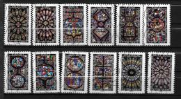 2016 - 114 -   Oblitéré  - Vitraux De Cathédrales - Structure Et Lumière - Adhesive Stamps