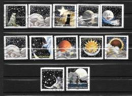 2016 - 117 -   Oblitéré  - Correspondances Planétaires - Adhesive Stamps