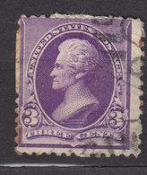 United States 1890 Mi. 63      3 C. President Andrew Jackson - Usati